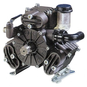"Bertolini PA530 Pump, 54 l.p.m.c/w THRU SHAFT, Front: 1 3/8"" M Six Spline, Rear: 6 Hole Flange"