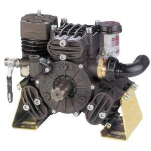"Bertolini PA730 Pump, 70 l.p.m.c/w THRU SHAFT, Front: 1 3/8"" M Six Spline, Rear: 6 Hole Flange"