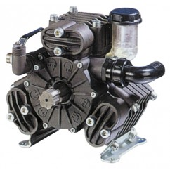 "Bertolini PA530 Pump, 54 l.p.m. c/w THRU SHAFT, Front; 1 3/8"" M Six Spline, Rear: 6 Hole Flange & F 1 3/8"" Six Spline"